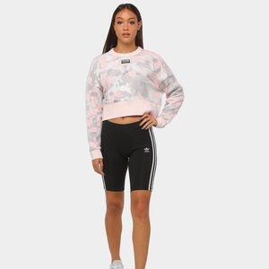 Adidas cropped cameo sweater